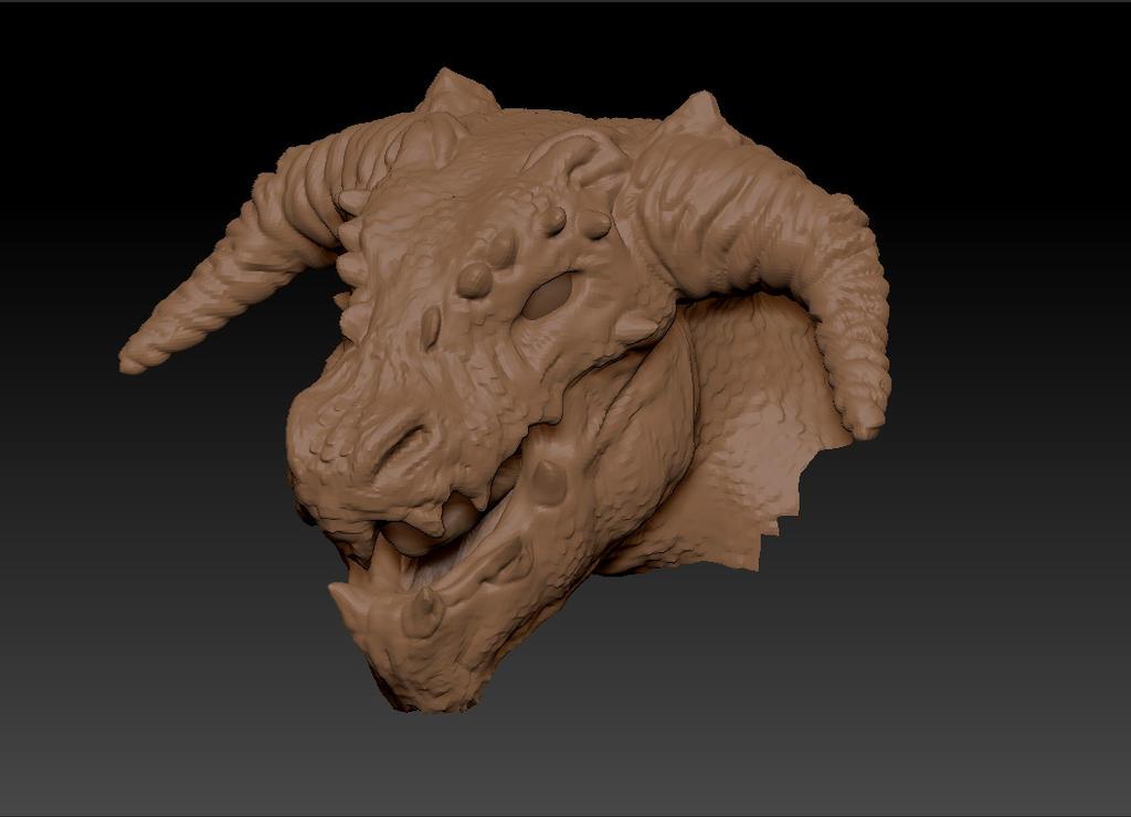 Dragon Head by D3vilKill3r23