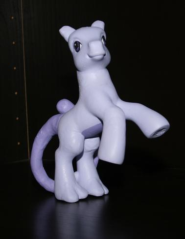 My Little Mewtwo Side by aquiafin