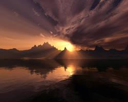 Celestial Dawn by hypnotic