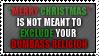 xmas cheer isn't an insult
