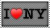I LOVE NY STAMP by neanimorph