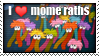 i love momeraths stamp by neanimorph