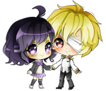 (G) Tsuna and Kuro- Mii-Fu
