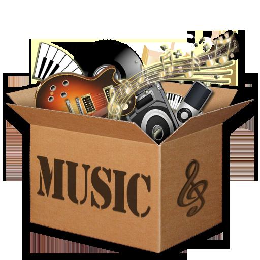 Music Box Icon 3 by KAdDigArt