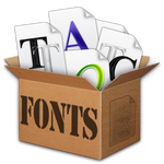 Fonts Box 1 Icon