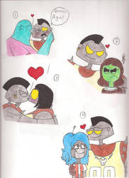 Crikey and his Love Interests by Lizlovestoons12