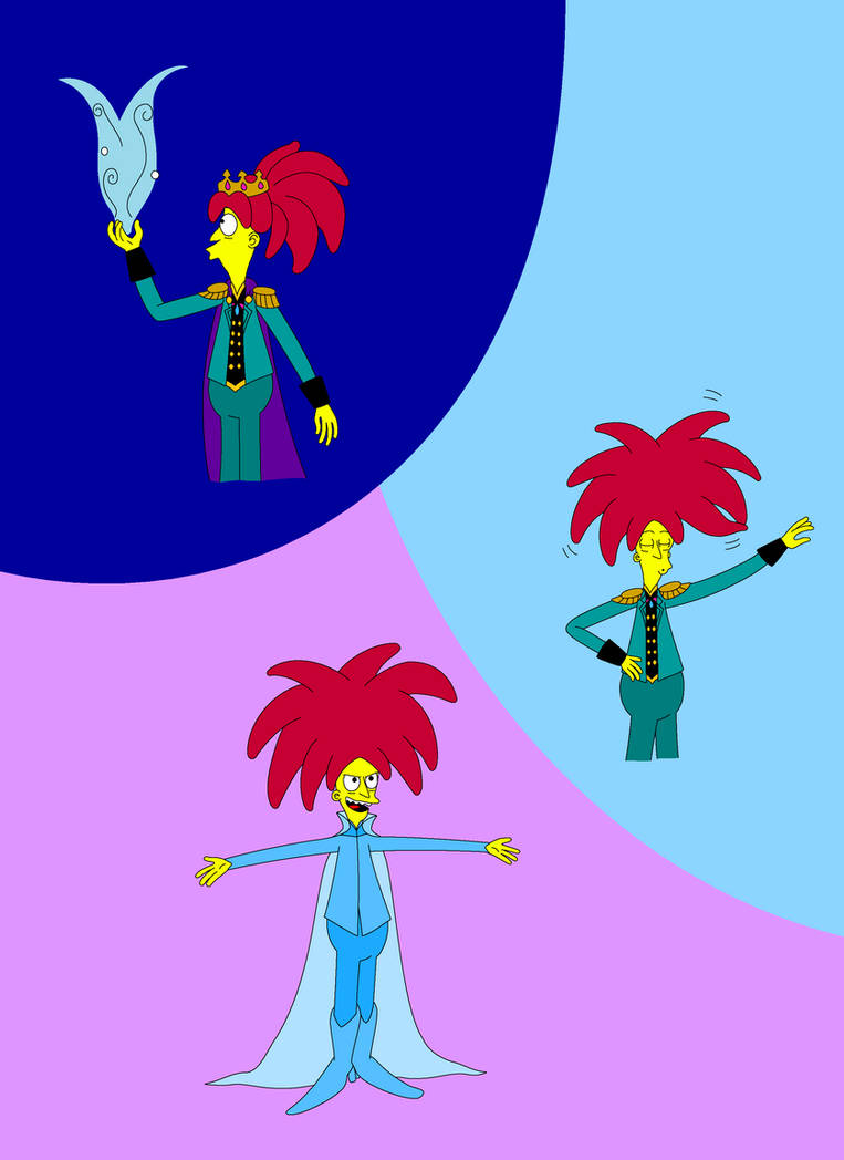 The Simpsons Sideshow Bob Lets It Go By Lizlovestoons12 On Deviantart