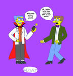 The Simpsons: Old Meets New (Smithers) by Lizlovestoons12