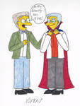 The Simpsons: Smithers's Masterpiece...? by Lizlovestoons12