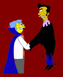 The Simpsons: THOH: 'I'm Made of Ink, Handsome'
