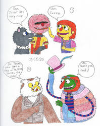 Muppets: A Visit to Sesame Street by Lizlovestoons12
