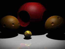 Quidditch Balls by Namelessblob