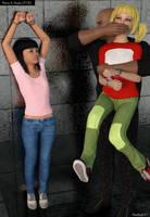 Penny and Atsuko 01-001 by damselfinder