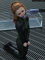 Alien Abduction 01-009 by damselfinder
