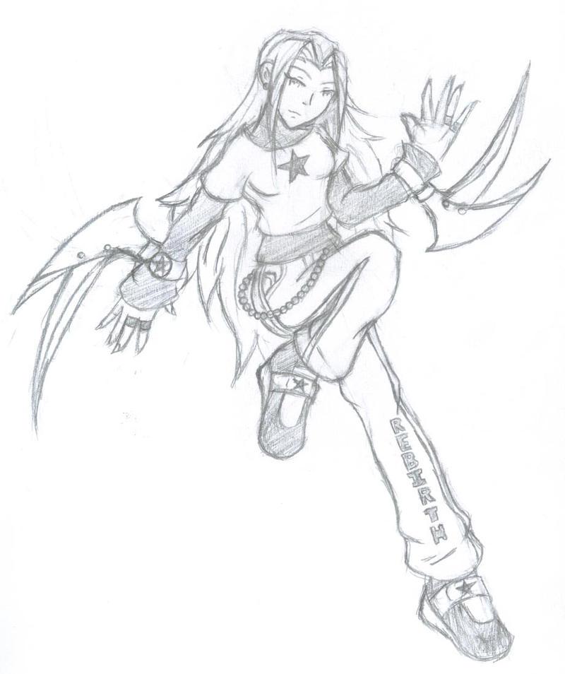 Hikari The Phoenix by solaroni