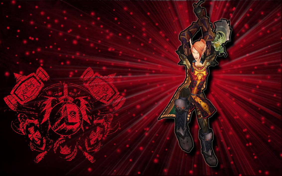 WoW- Blood Knight Wallpaper by solaroni on DeviantArt