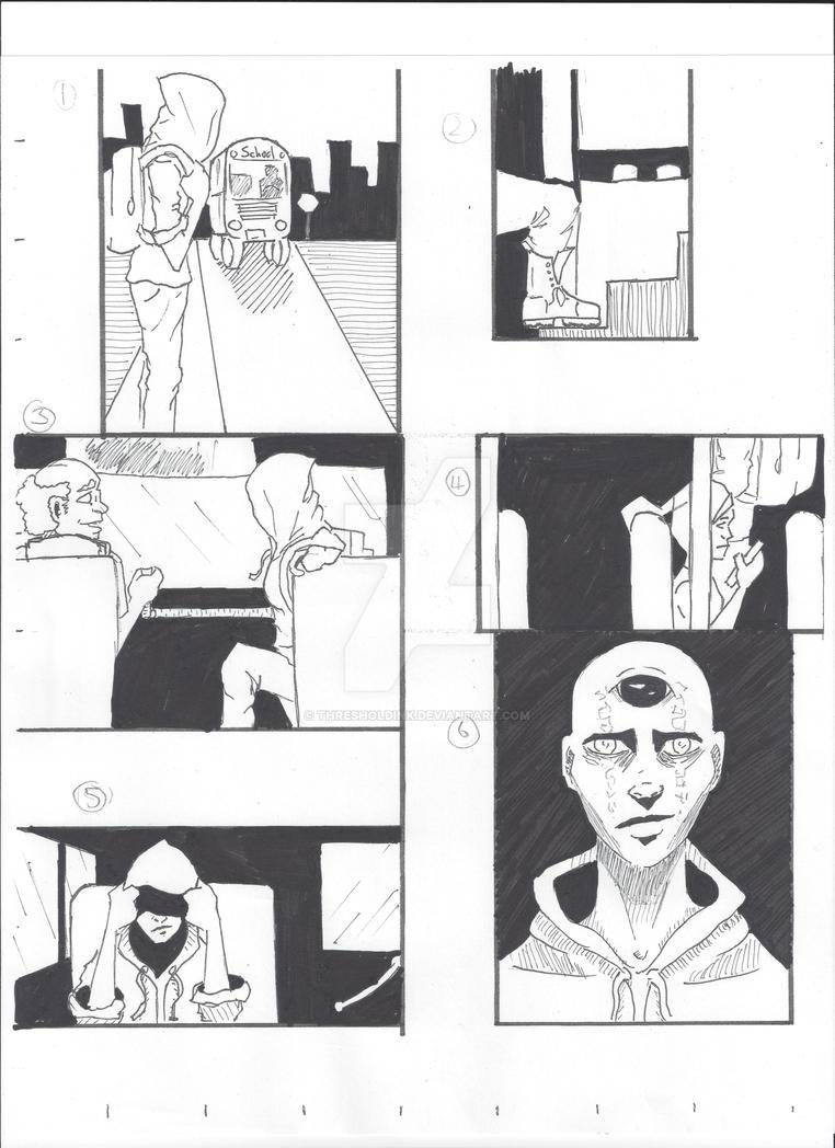 Threshold comic - Inked by ThresholdInk