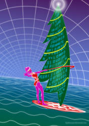 CyStreak Surfing the Xmas Wind by DigiFuMaster