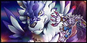 WereGarurumon by CrazyCottonCandy