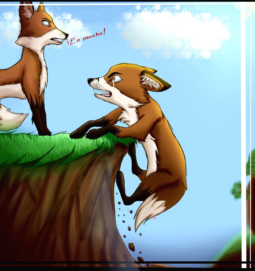 Foxes by Miathefoxwolf