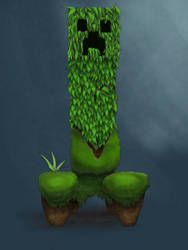 Creeper Minecraft by a-mini-boss