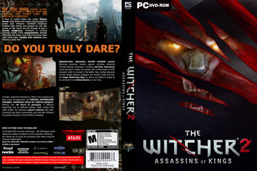 Witcher 2 PC cover by a-mini-boss