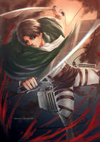 Shingeki no Kyojin: Levi by Alicere