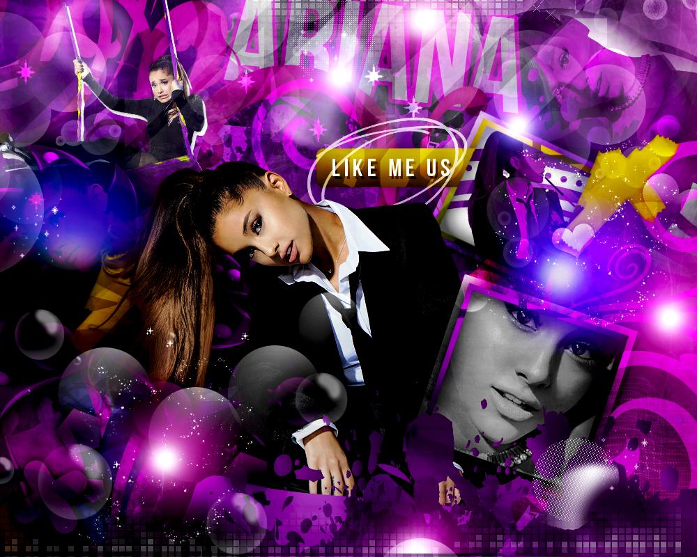 Like Me Us - Ariana Grande by iLoadedOnMyStar