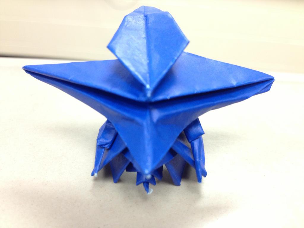 Gundam Origami Head By KittyMennie