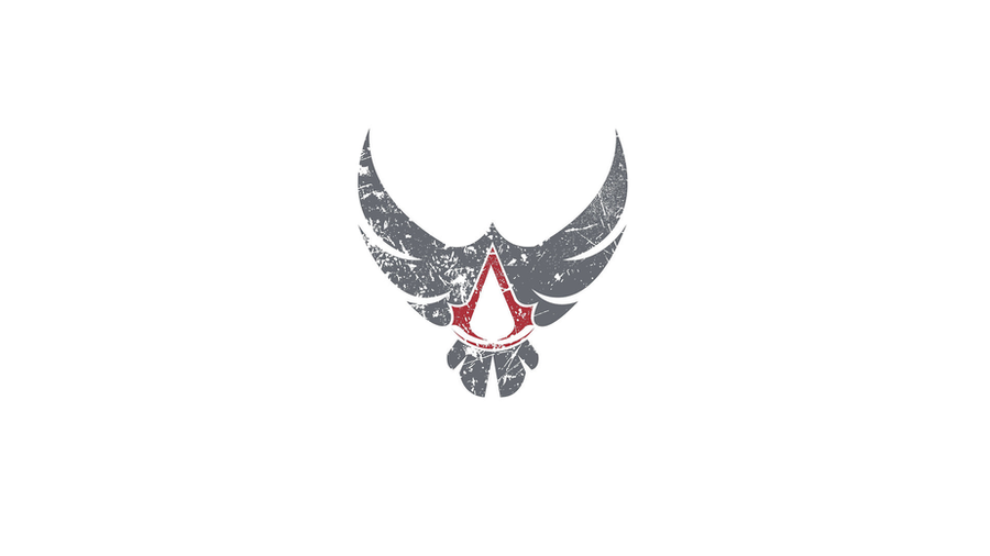 Assassin S Creed Eagle Logo Background By Sophieauditore