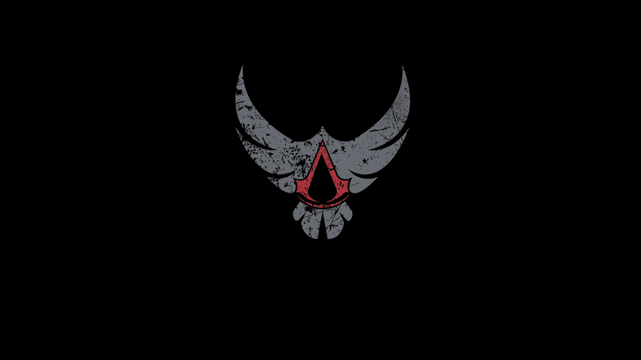 Assassins Creed Eagle Logo Black By Sophieauditore On Deviantart