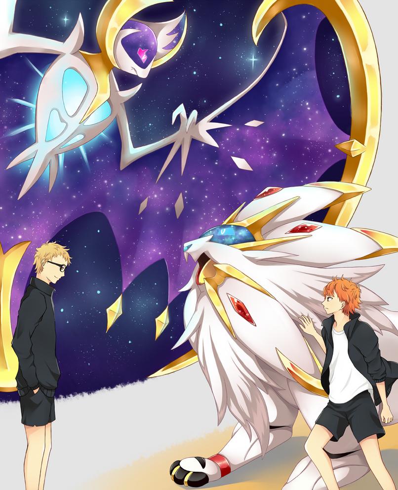 Sun vs. Moon by Kayarisu