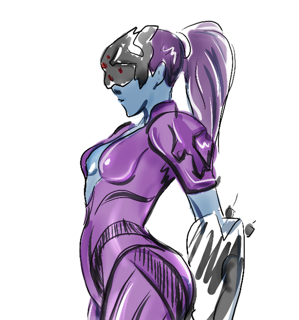 Widowmaker sketch by mejia29