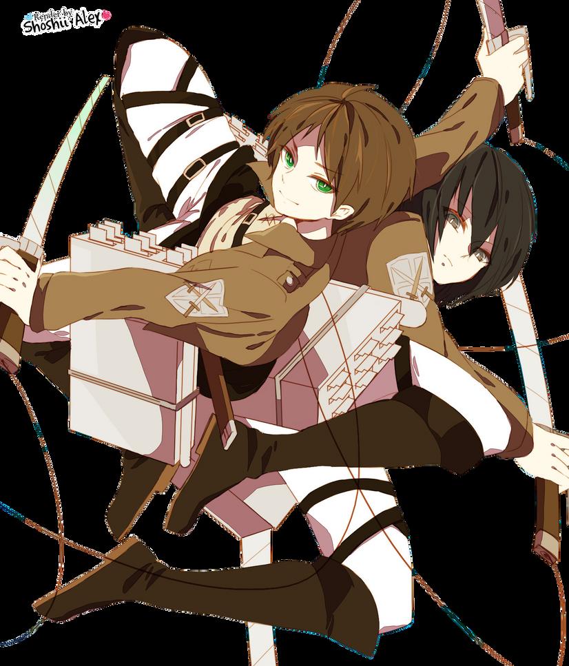 Renders L'attaque des Titans Shingeki_no_kyojin___render_by_shoshiialex-d6339h0