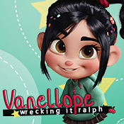Vanellope Icon by ShoshiiAlex
