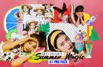 Summer Magic (Red Velvet) PNG Pack