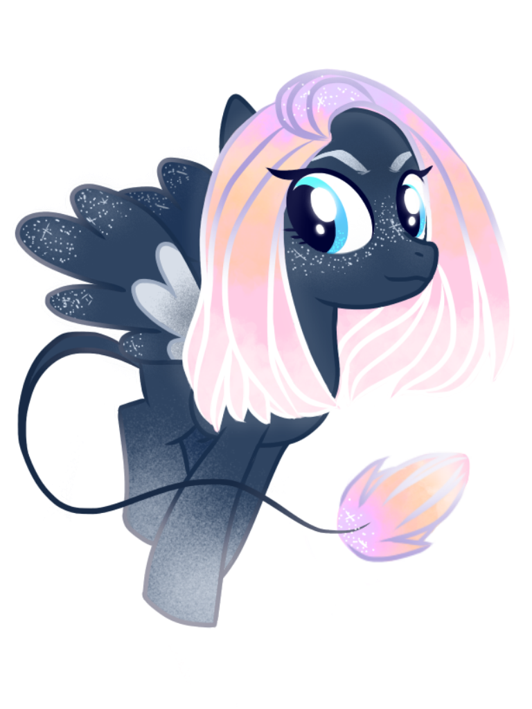 MLP OC - Eventide Flare by CorailJay