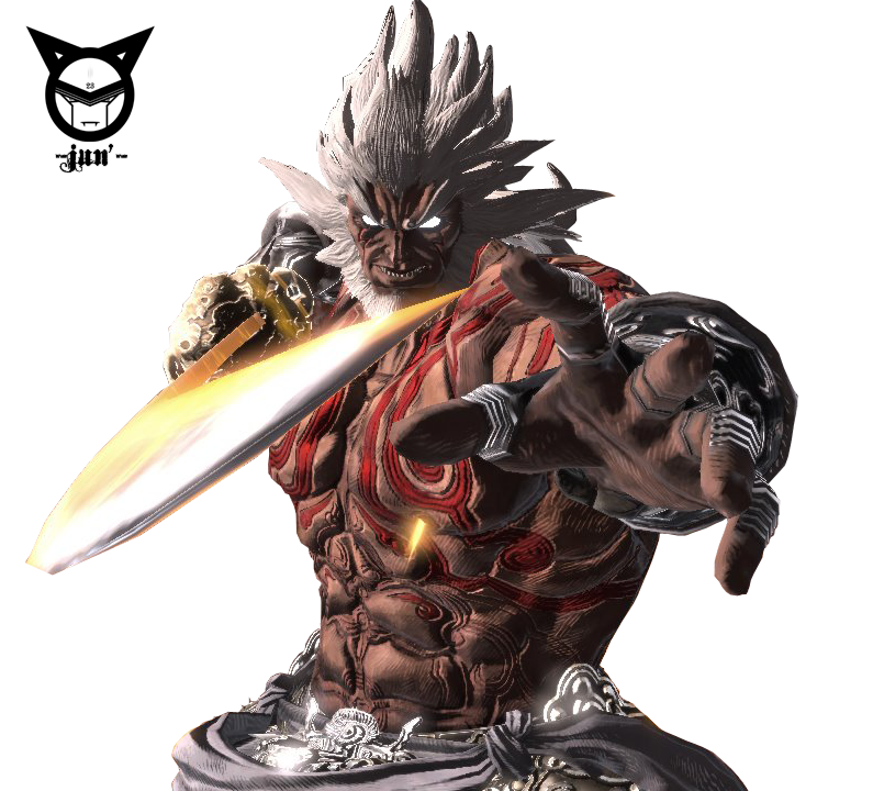 Render Asura's Wrath -Augus- by Junleashed