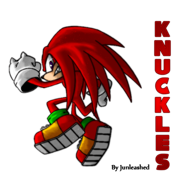 - Knuckles the Echidna - by Junleashed