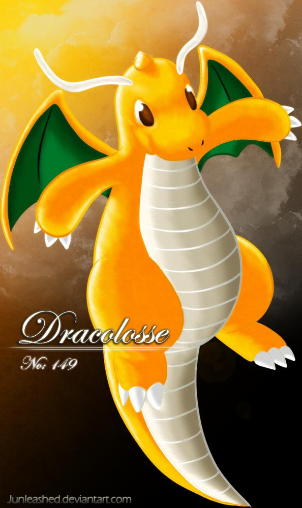 pokemon 149 dragonite by junleashed on deviantart
