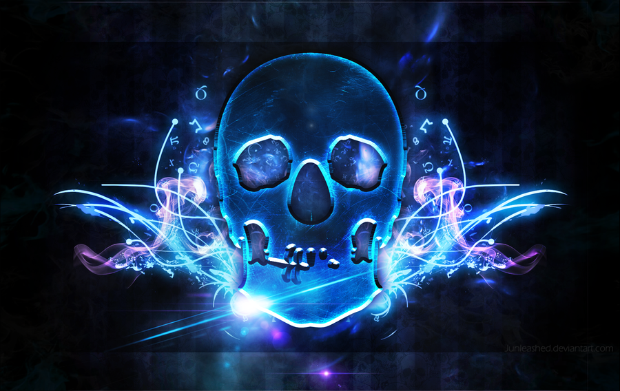 Skull Wallpaper By Junleashed