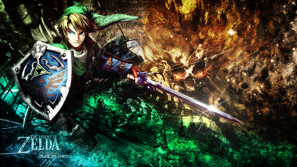 The legend Of Zelda Wallpaper by Junleashed on DeviantArt