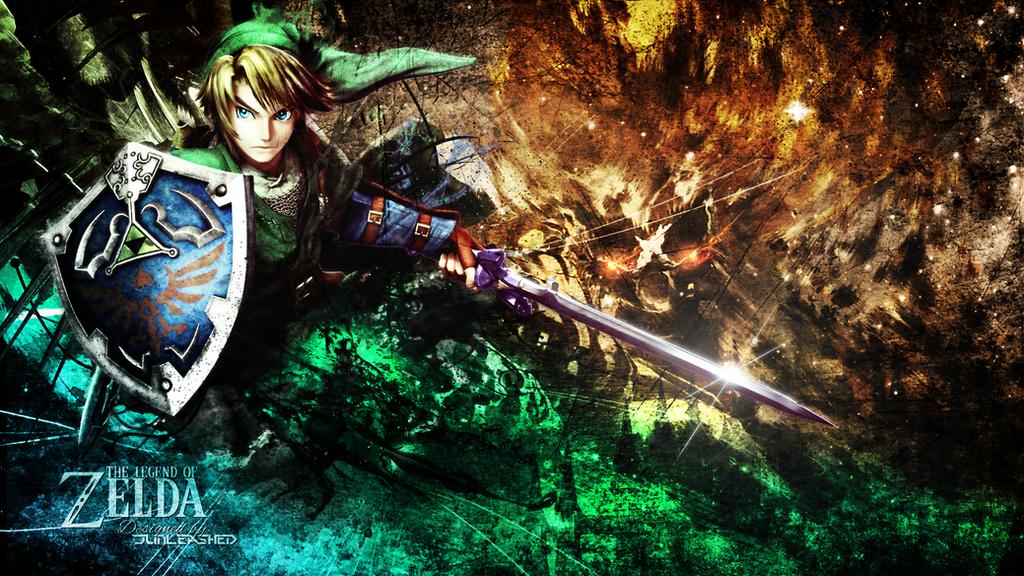 The legend Of Zelda Wallpaper by Junleashed