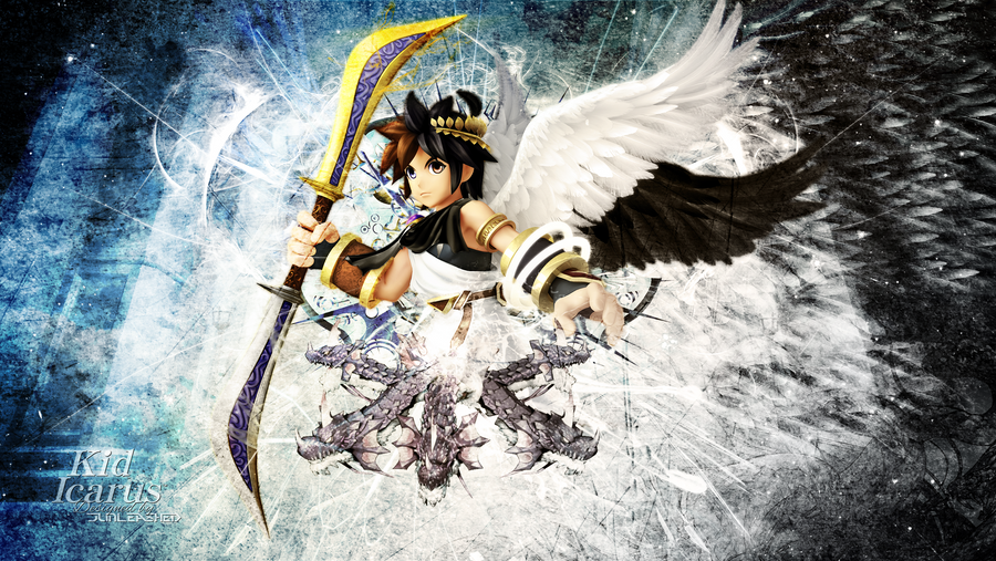 kid icarus wallpaper by junleashed on deviantart