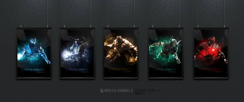 Mortal Kombat X Frames (Part II) by Junleashed