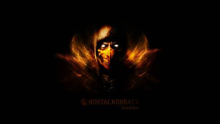 Mortal Kombat X - Scorpion - by Junleashed
