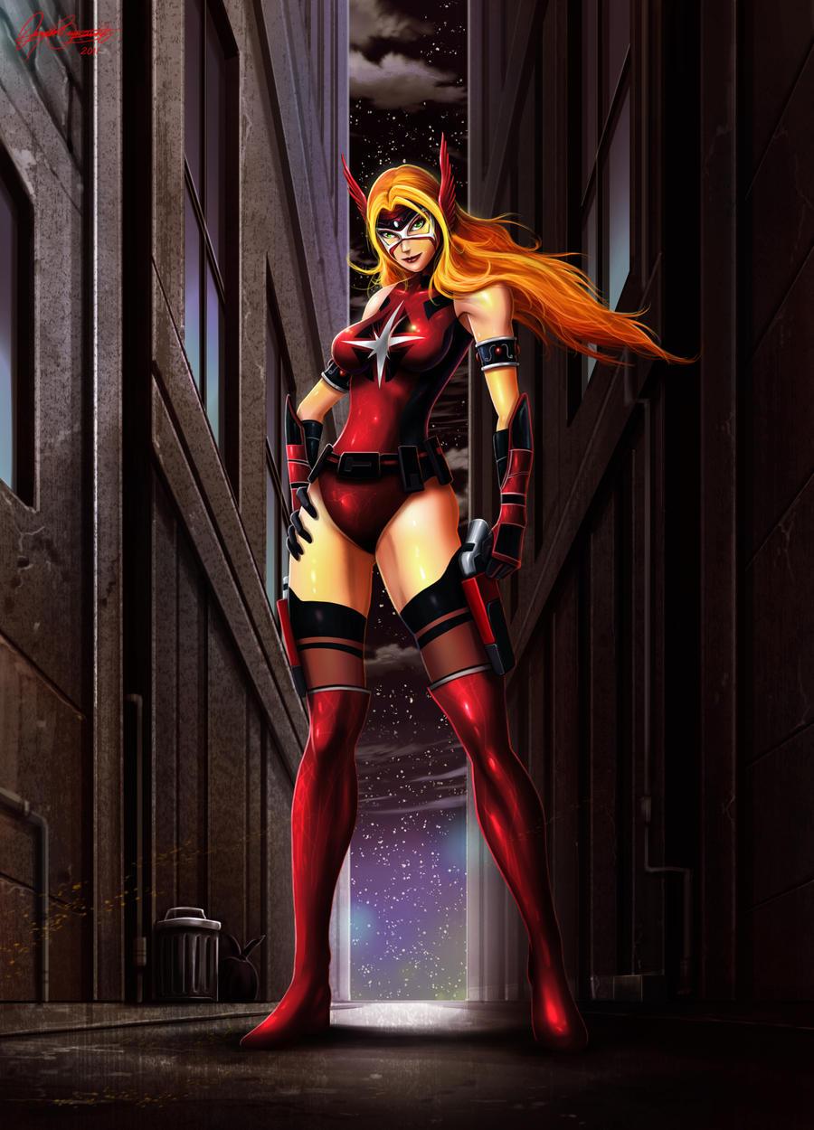 Crimson Valkyrie by Serathus by CrimsonVlkyrie