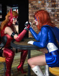 Crimson and Astra Girl - A Friendly Bout