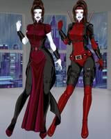 The Widow by CrimsonVlkyrie