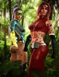 Jaguara and Tigress - Codex Entry